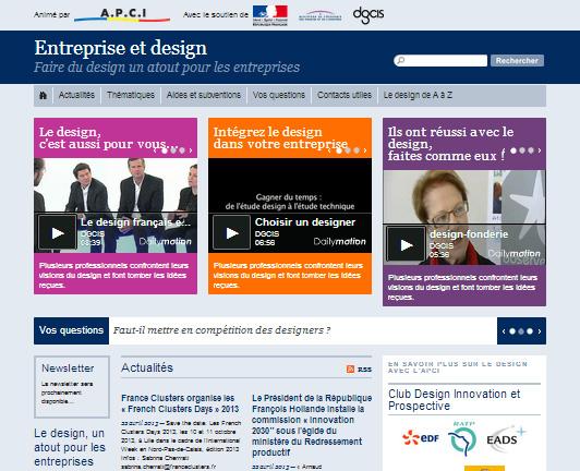 Entreprise et design