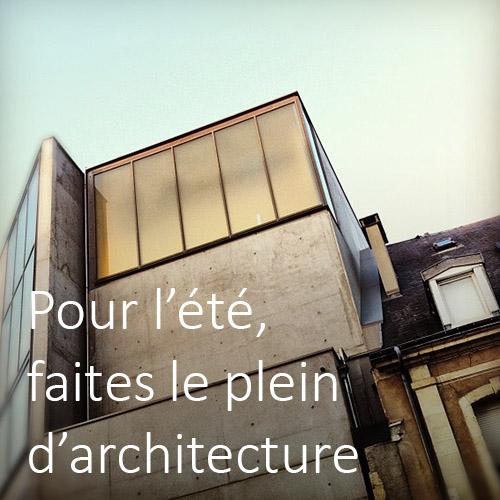 Faites le plein d'architecture - Photo Richard Carlier