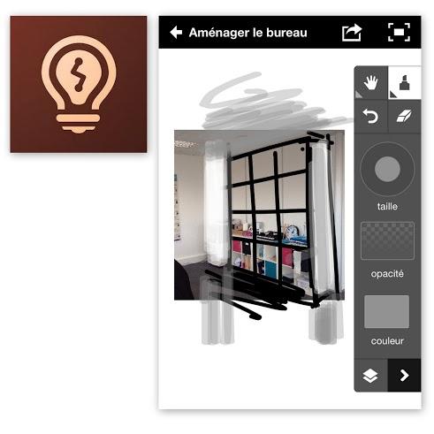 Dessiner avec sa tablette ou son téléphone - Adobe Ideas