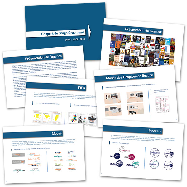 EDAA - Stage Camille - Formation graphiste - Rapport de stage