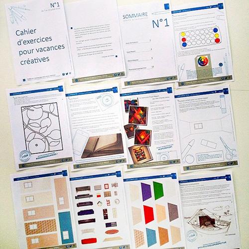 EDAA - Cahiers d'exercices pour des vacances créatives 2014