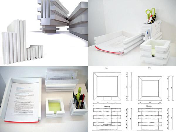 EDAA - Portrait Vincent - Formation design - Objets de bureau