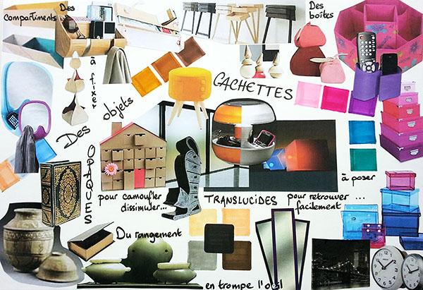 Portrait Nathalie - Formation Design EDAA - Planche d'inspiration