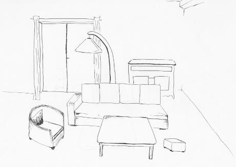Florence - Formation Décorateur intérieur EDAA - Exemple devoir 1