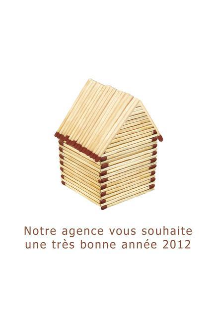 Carte de voeux d'une agence d'architecture