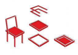 Chaise démontable
