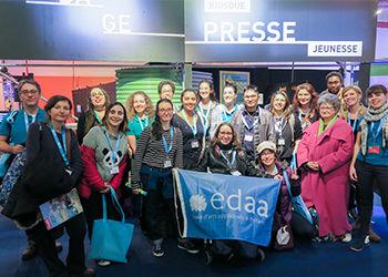 EDAA au Salon du Livre & de la Presse